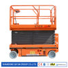 Qiyun CE&ISO Approved Self Propelled Scissor Lift 10m Height and 320 Kg Capacity for Window Cleaning Use