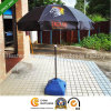 36 Inch Black Coating Outdoor Sun Umbrella for Advertising (BU-0036B)