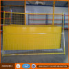 Yellow Color Powder Coated Canadian Temporary Security Fencing
