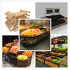 Vegetable and Fruit Display Rack for Supermarket with Competitive Price