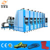 6 Station EVA Crocs /Garden Shoes Foaming Injection Machine