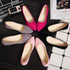Various Colors Suede Rubber Bottom Sweet Girl Flat Single Shoes Shallow Casual Shoes