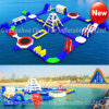 Giant Customized Inflatable Floating Water Games Park for Sea