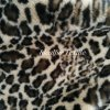 Leopard Print with Velvet Soft Faux Fur