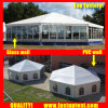 Large PVC Multi Side Tent for Trade Show Diameter 8m 50 People Seater Guest