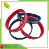 Custom Printed Logo Fashion Decoration Rubber Silicone Bracelet (022)