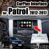 Lsailt Carplay Interface for 2012-2017 Patrol Support Android Auto, Youtube, Cameras, Bluetooth