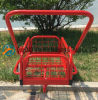 90*70*59 Cm Shopping Trolley Carts for Supermarket with 8 Inch Solid PU Wheels