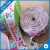 100%Polyester Webbing Multicolor Color Printed Ribbon for Gift Decoration