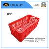K91 Plastic Crate for Vegetable and Fruit