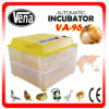 Quality Guaranteed CE Approved Capacity 96 Chicken Egg Incubator China Automatic Used Poultry Incubator for Sale