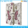 Printed Butterfly Wallet Leather Flip Case for Moto G5/G5 Plus