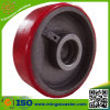 "European Type 6"" Cast Iron PU Wheel with Greese Nipple"