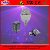 RGB 3W Indoor Rotation LED Light Bulb