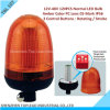 12V-48V 120PCS Normal LED Bulb Amber Color PC Lens CE-Mark IP56 2 Years Warranty Strobe Warning Light, Rotating Warning Beacon Light (TBL 107)