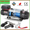 9500lbs Automatic 12V Winch with Synthetic Rope