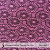 Purple Geometric Net Lace Fabric (M0417)