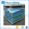 Collapsible Storage Galvanized Wire Mesh Container for Warehouse
