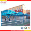 Curved Roof Carport with Polycarbonate Sheeting