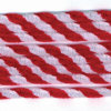Chenille Stems, Red and White Twist