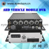 3G 4CH Ahd720p Vehicle Mobile DVR Support 128 GB Card DVR Mobile 4G Options