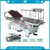 AG-HS005 with Al-Alloy Handrails Hospital Stretcher Patient Trolley