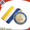 Custom Metal Sports Souvenir Medal with Ribbon