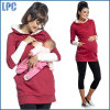 100% Cotton Fashion Women Maternity Fleece Hoodies