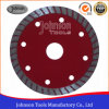 Cutting Tool 105mm Sintered Turbo Saw Blade for Granite