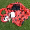 Indoor Outdoor Pop up Beetle Kids Children Game Play Tent