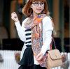 Lady Fashion Chiffon Scarf New Design Chiffon and Polyester Scarf