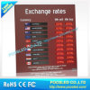 Portable LED Foreign Currency Rate Board