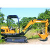 Rubber Track Hydraulic Compact Excavators for Digging