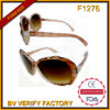F1276 Oval Irregular Transparent Occhiali Sunglasses