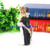 Romantic Bride and Groom Resin Doll Decoration for Wedding