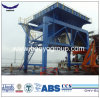 Port Cargo Discharging Rubber Tire Mobile Hopper