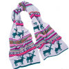 Cute Christmas Deer Scarf (JRI121)