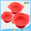 Silicone Foldable Drain Basket with Hanging Hole