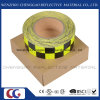 PVC Honeycomb Type Traffice Warning Reflective Tape Adhesive Vinyl (C3500-G)