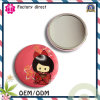 58mm Butterfly Tinplate Pocket Mirror / Tin Mirror
