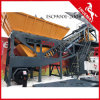 High Quality Production Capacity Belt Type Mobile Concrete Plant 60m3/H