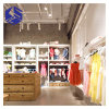 Wooden Store Fittings Design Retail Clothes Display Furniture Stand