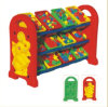 Kaiqi Group Little Plastic Hot Sell Toy Collection Rack Play Equipment