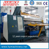 W11H-20X3200 hydraulic 3 Rollers Arc-Adjust Plate Bending Rolling Machine