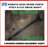 Kubota DC60 Drive Shaft