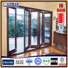 Aluminium Frame Double Glass Patio Folding and Sliding Door