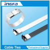 316 Stainless Steel Wing Seal Metal Cable Tie