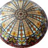 Cathedral or Mosque Inside Laminated Stained Glass Ceiling Dome