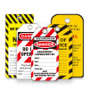 Customized Red Danger Warning Lockout Tag (BD-P01)