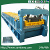 CE Certificated Glazed Tile Cold Roll Forming Machine